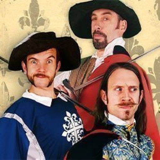 Morgan & West Present: The Three Musketeers